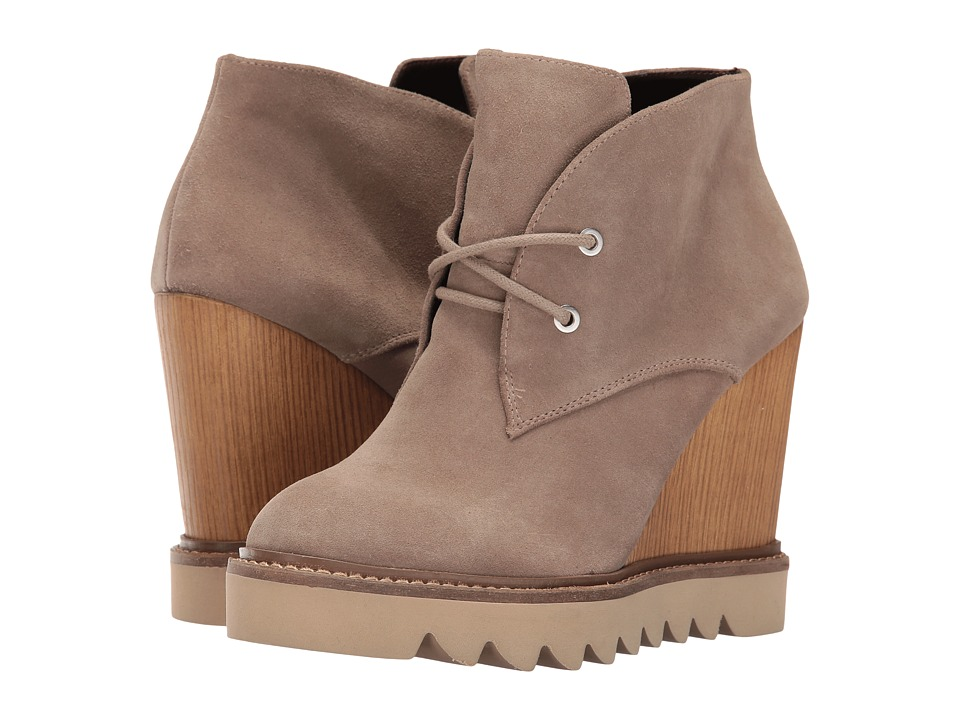 BCBGeneration Nariska (Smoke Taupe Oil Calf Suede) Women