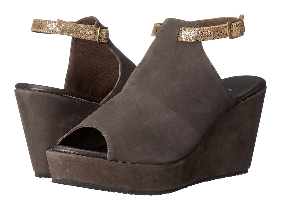 Cordani - Fina (Brown Nubuck) Women's Wedge Shoes