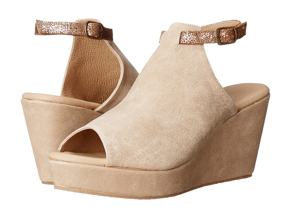 Cordani - Fina (Natural Nubuck) Women's Wedge Shoes