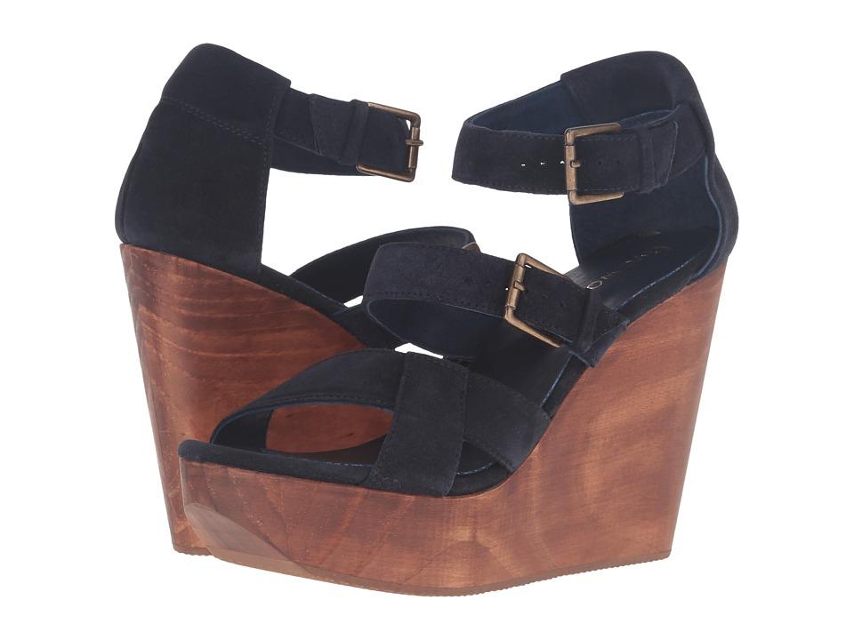 Cordani - Decla (Navy Suede) Women's Wedge Shoes