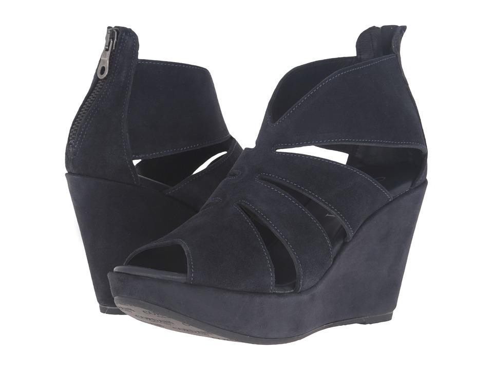Cordani - Rollins (Navy Suede) Women's Wedge Shoes