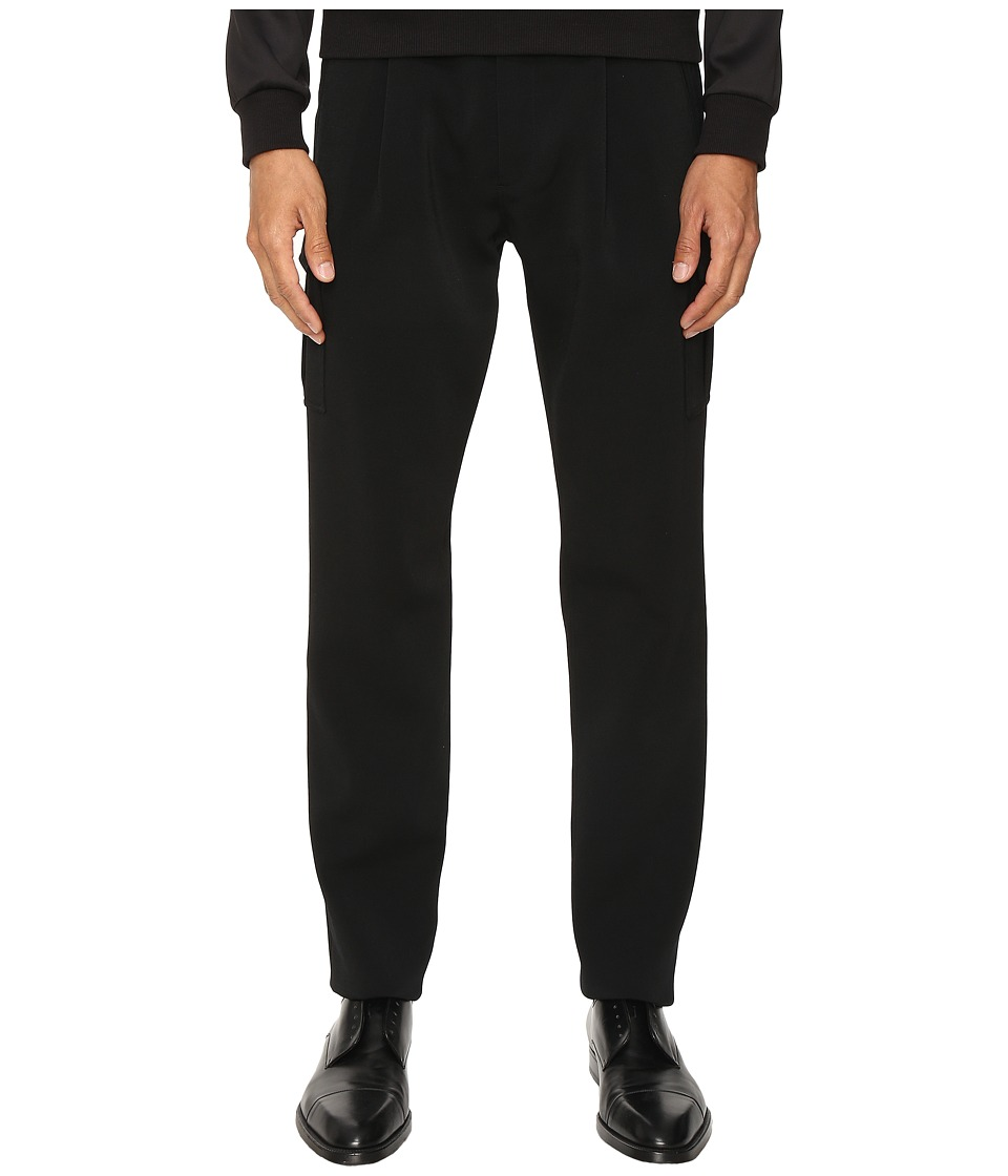 Versace Collection - Tailored Trousers (Black) Men's Casual Pants