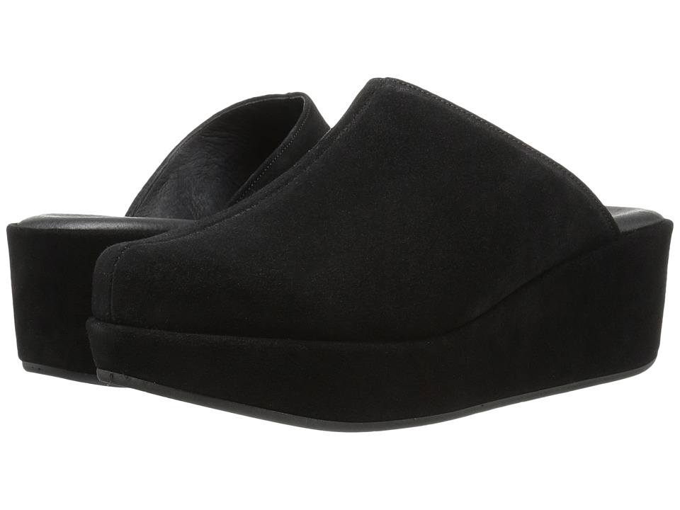 Cordani - Carma-2 (Black Suede) Women's Clog Shoes
