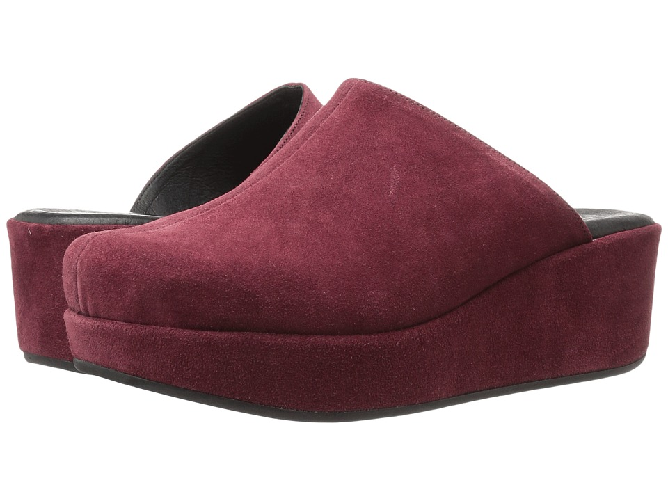 Cordani - Carma-2 (Burgundy Suede) Women's Clog Shoes