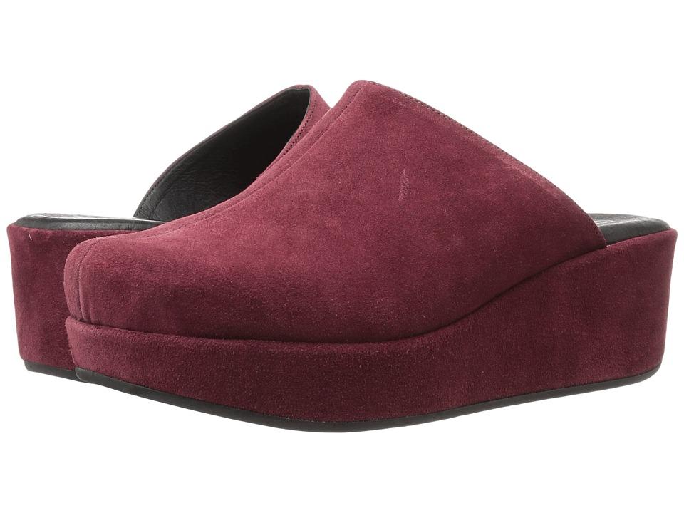 Cordani - Carma-2 (Burgundy Suede) Women's Clog Shoes