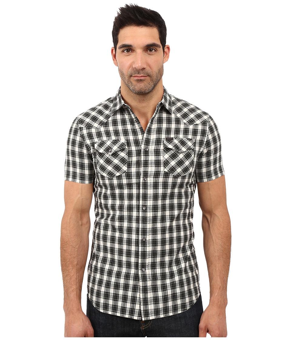 Diesel - S-Zule-Short Shirt (Black) Men's Clothing