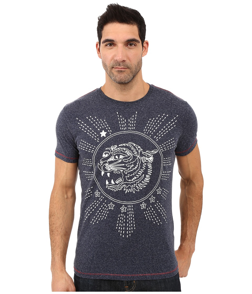 Diesel - T-Joe-Gu T-Shirt (Navy/Blue) Men's T Shirt
