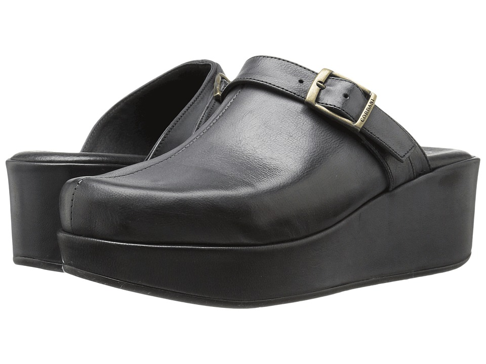 Cordani - Corona (Black Leather) Women's Shoes