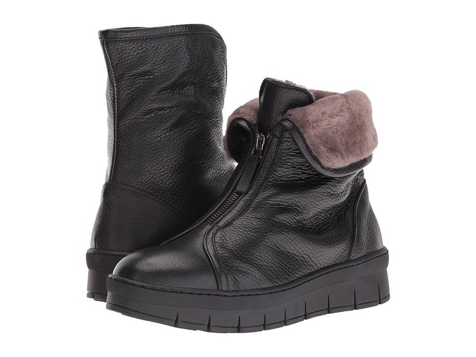 Cordani Phillips (Black Leather) Women