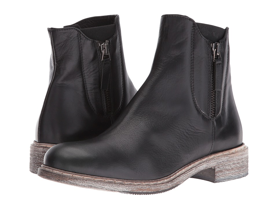 Cordani - Parelli (Black Leather) Women's Zip Boots