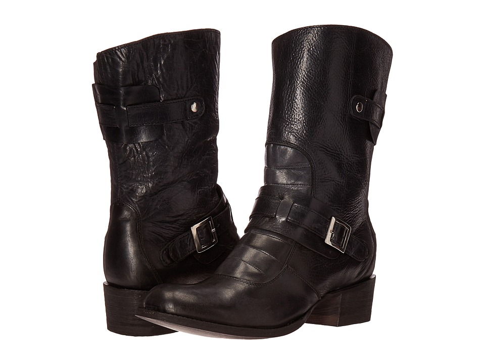 Cordani - Sonia (Black Antiqued Leather) Women's Boots
