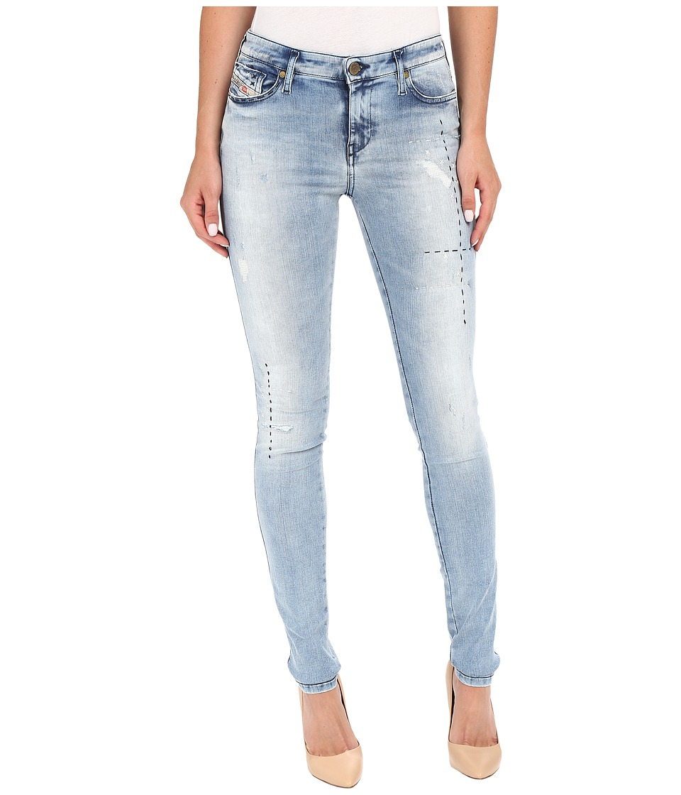 Diesel Skinzee Trousers 854J (Denim) Women