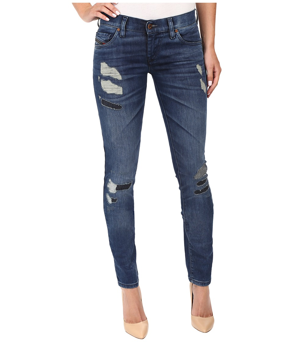 Diesel - Grupee Trousers 854P (Denim) Women's Jeans