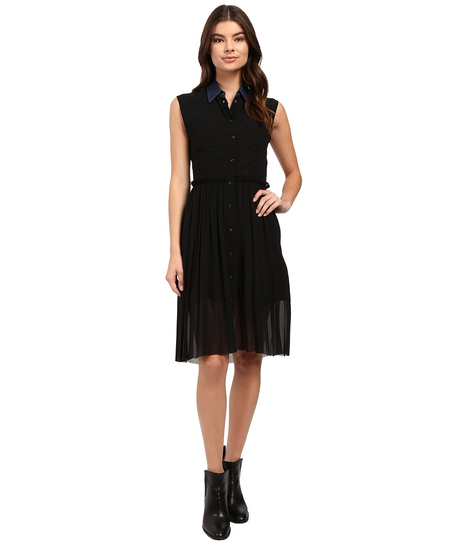 Diesel - D-Casey-B Dress (Black) Women's Dress