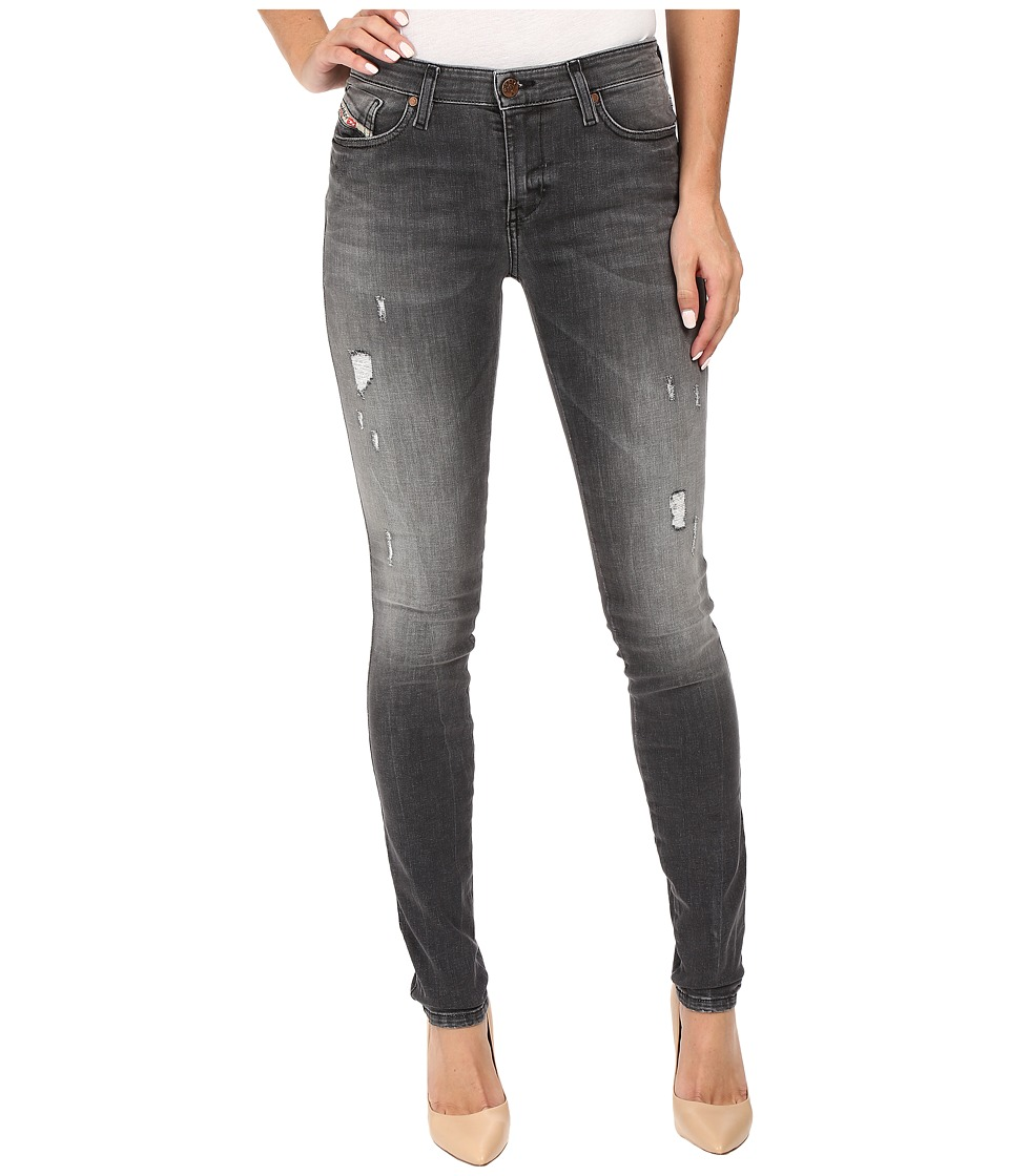 Diesel Skinzee Trousers 675I (Black/Denim) Women