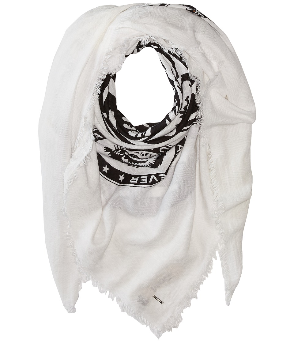 Diesel - Sblue Scarf (White) Scarves