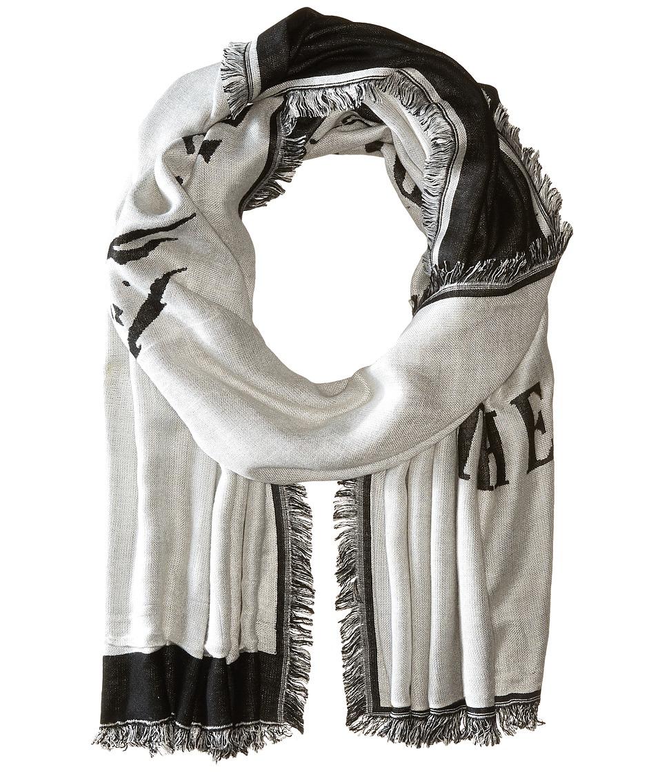 Diesel - Salfindian Scarf (Grey) Scarves