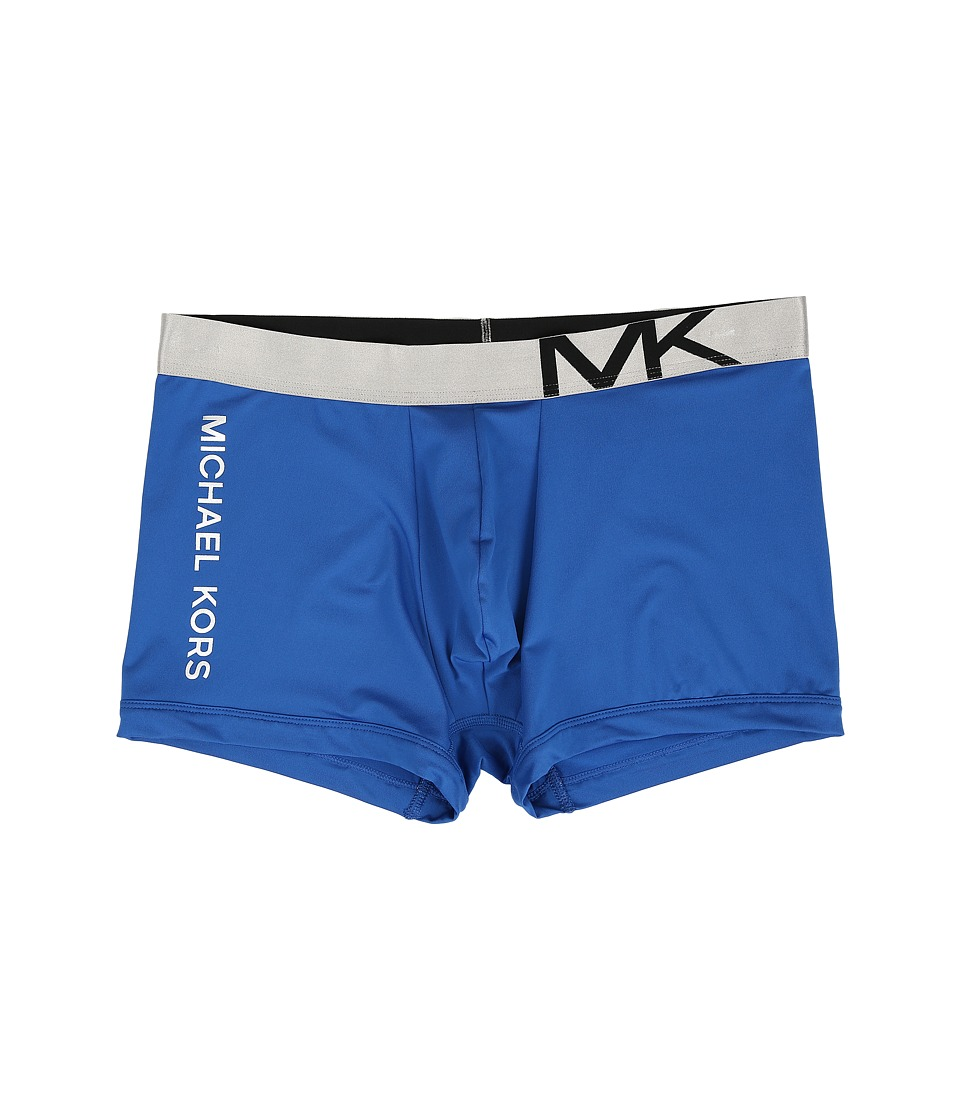 Michael Kors - Statement Icon Trunk (Blue) Men's Underwear