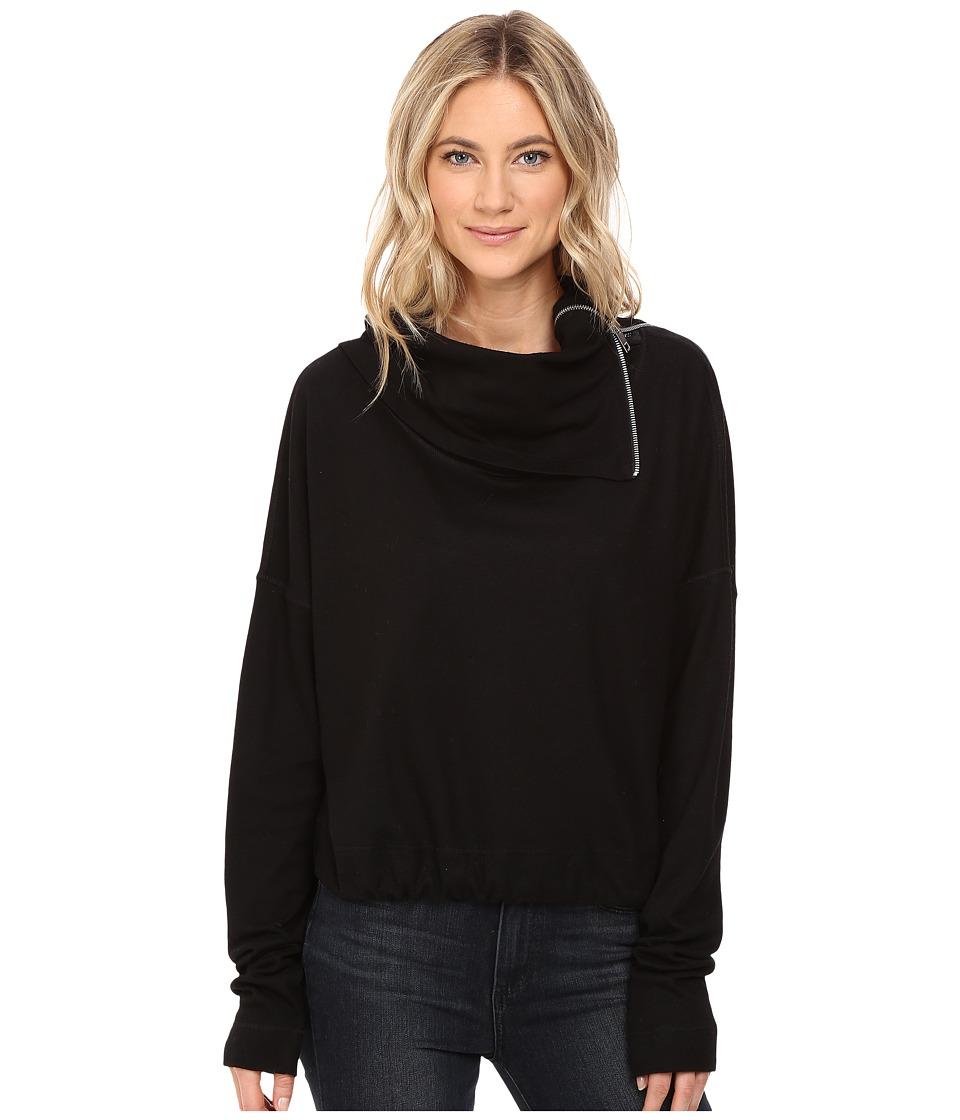Diesel - T-Moha Pullover (Black) Women's Clothing