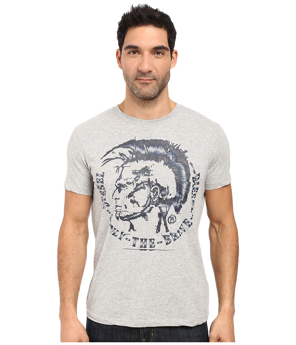 Diesel - T-Joe-Gf T-Shirt (Light/Grey) Men's T Shirt