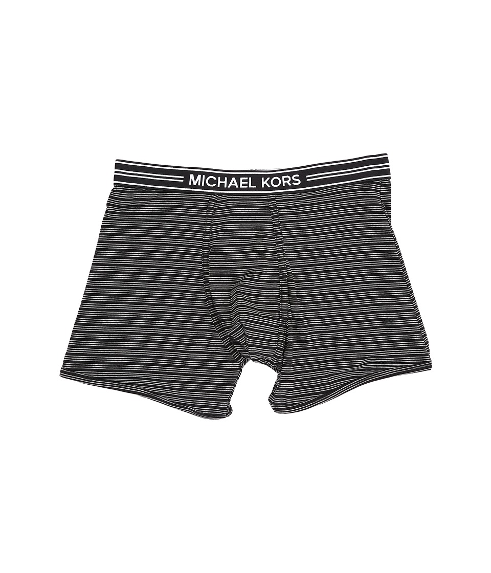 Michael Kors - Luxury Modal Boxer Brief (Granite) Men's Underwear