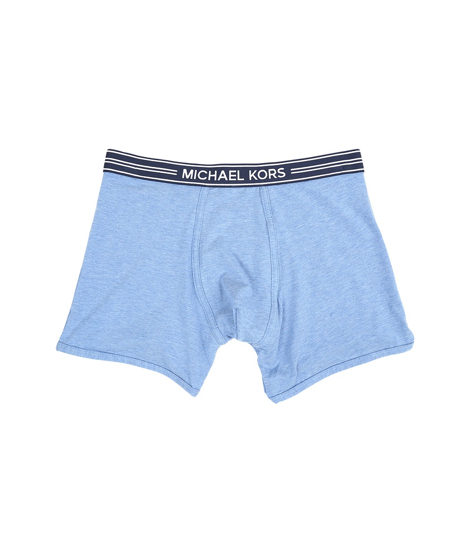 Michael Kors - Luxury Modal Boxer Brief (Indigo) Men's Underwear