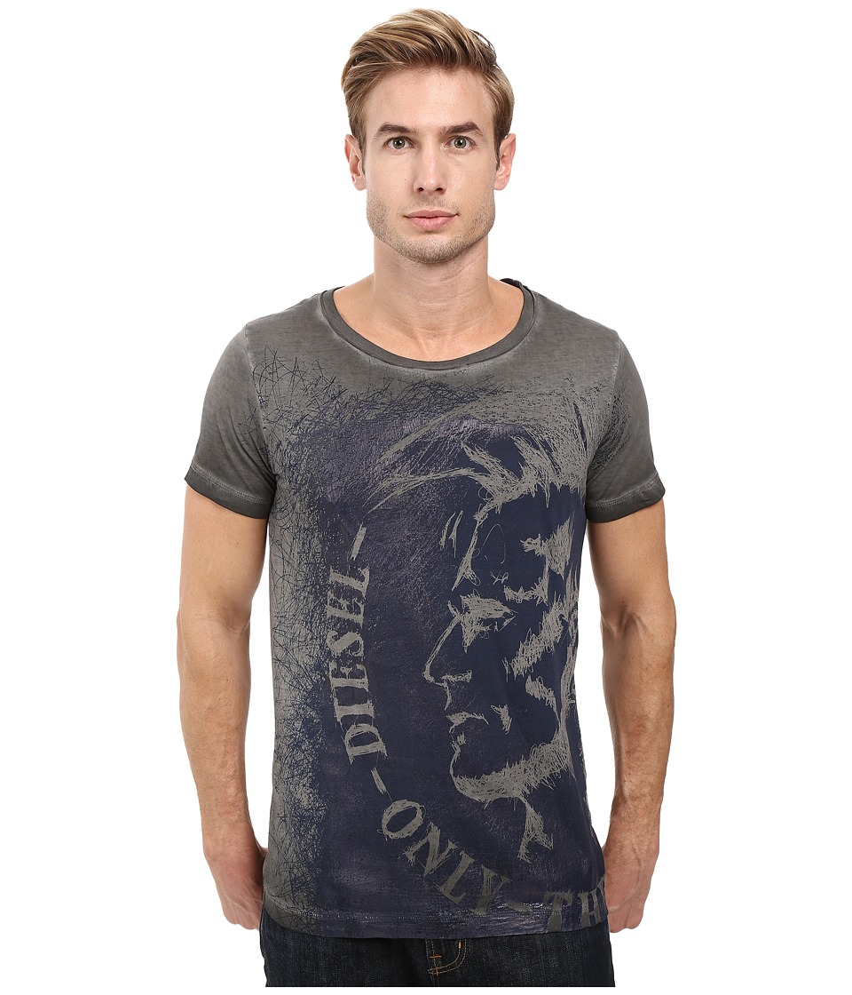 Diesel - T-Diego-Dc-F T-Shirt (Black) Men's T Shirt