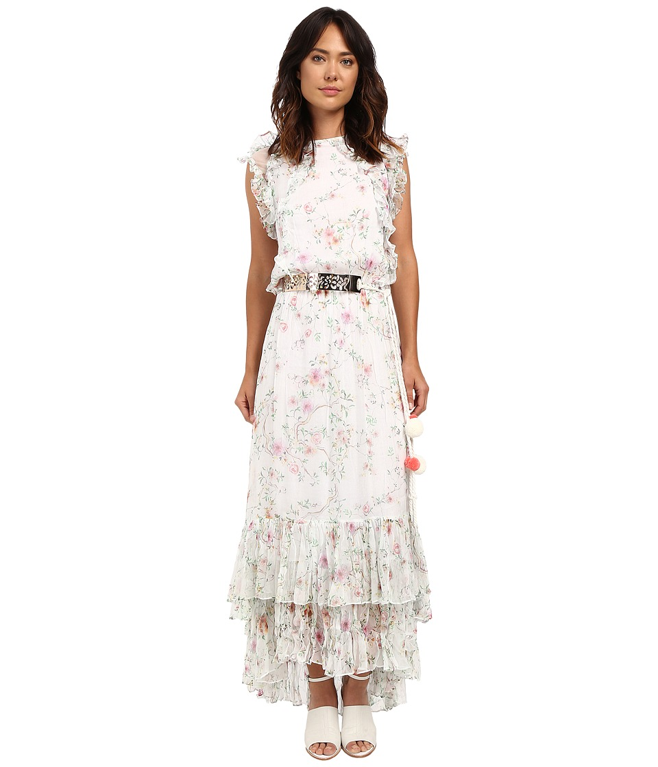 LOVE Binetti - The Sonic Dress (Floral Pink) Women's Dress