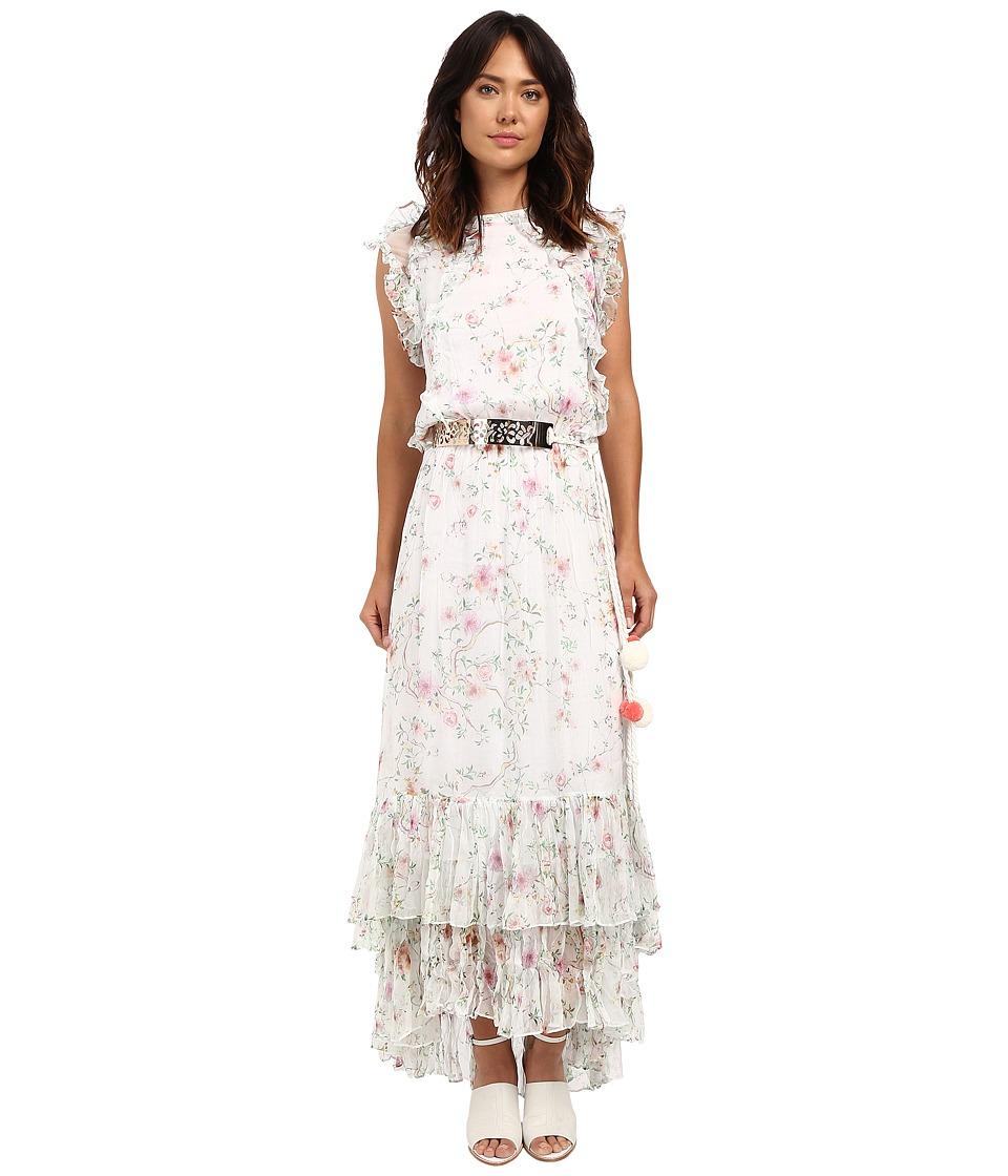 LOVE Binetti - The Sonic Dress (Floral Pink) Women's Dress