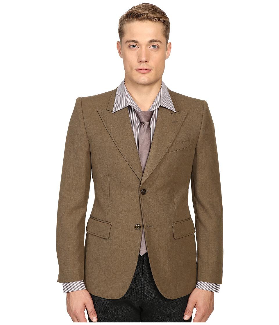 Marc Jacobs - Strictly Twill Blazer (Army Melange) Men's Jacket