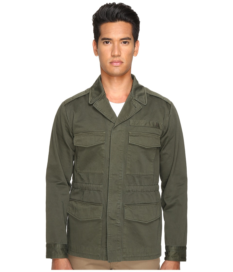 Marc Jacobs - Cotton Sateen Bomber Jacket (Forest Night) Men's Coat
