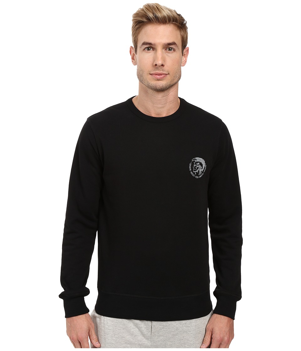 Diesel - Willy Sweatshirt CAND (Black) Men's Sweatshirt