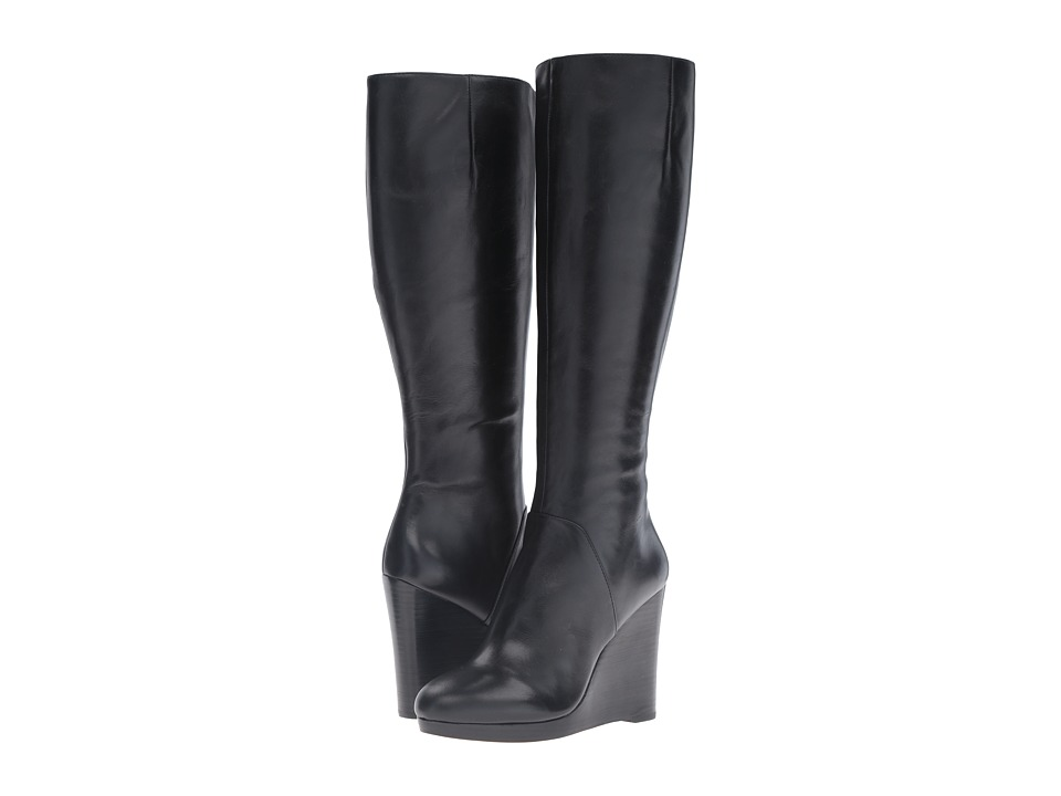Nine West Harvee (Black Leather) Women