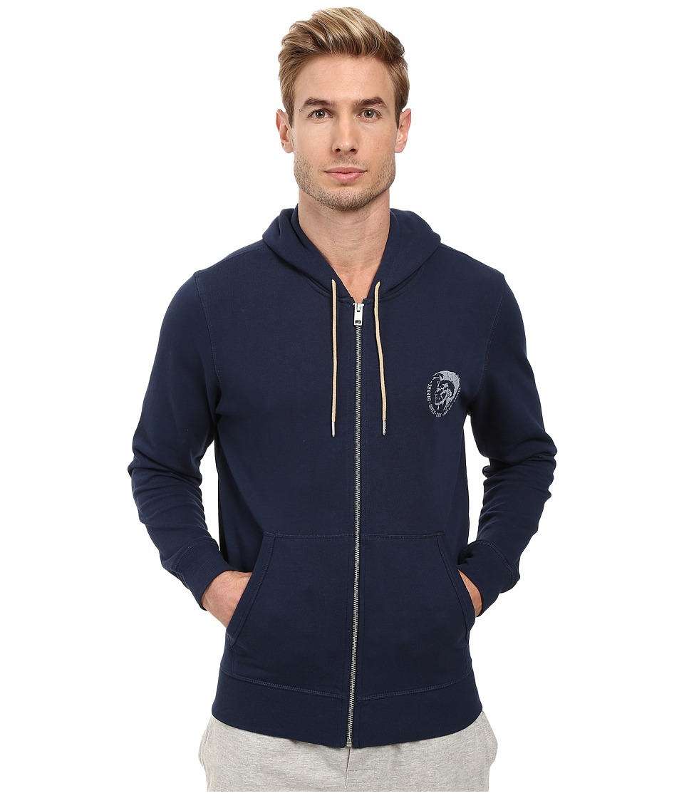 Diesel - Brandon-Z Sweatshirt CAND (Navy) Men's Sweatshirt