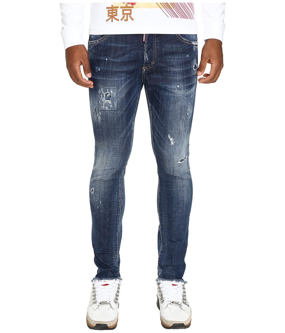 DSQUARED2 - Warm Samauri Skinny Dan Jeans (Blue) Men's Jeans