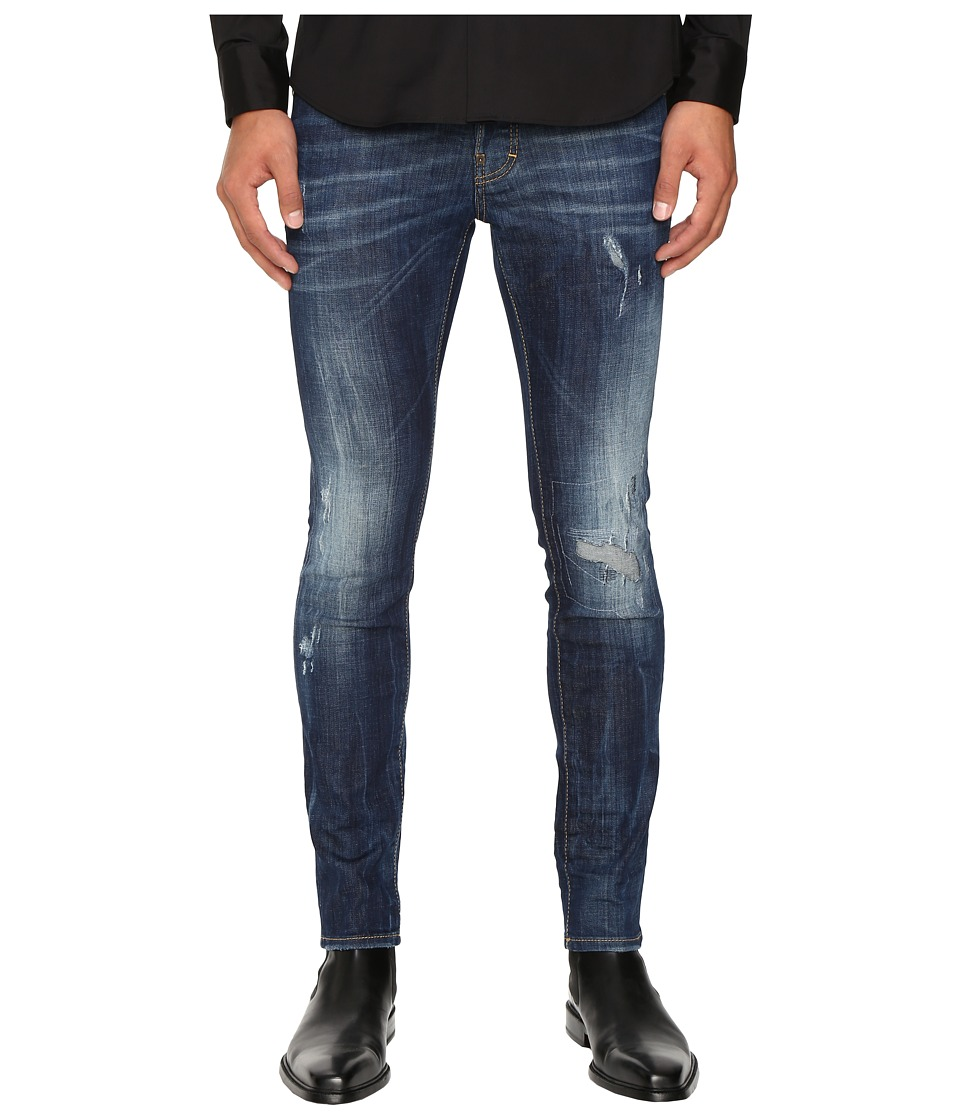 DSQUARED2 - Five-Pocket Cool Guy Jeans (Blue) Men's Jeans
