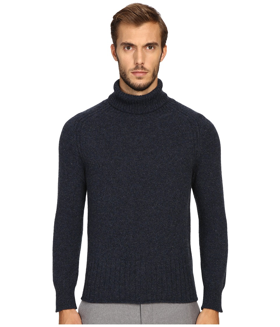 Marc Jacobs - Winter Cashmere Turtleneck (Navy Melange) Men's Sweater