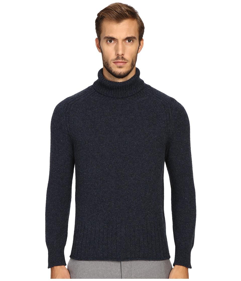 Marc Jacobs - Winter Cashmere Turtleneck (Navy Melange) Men's Sweater