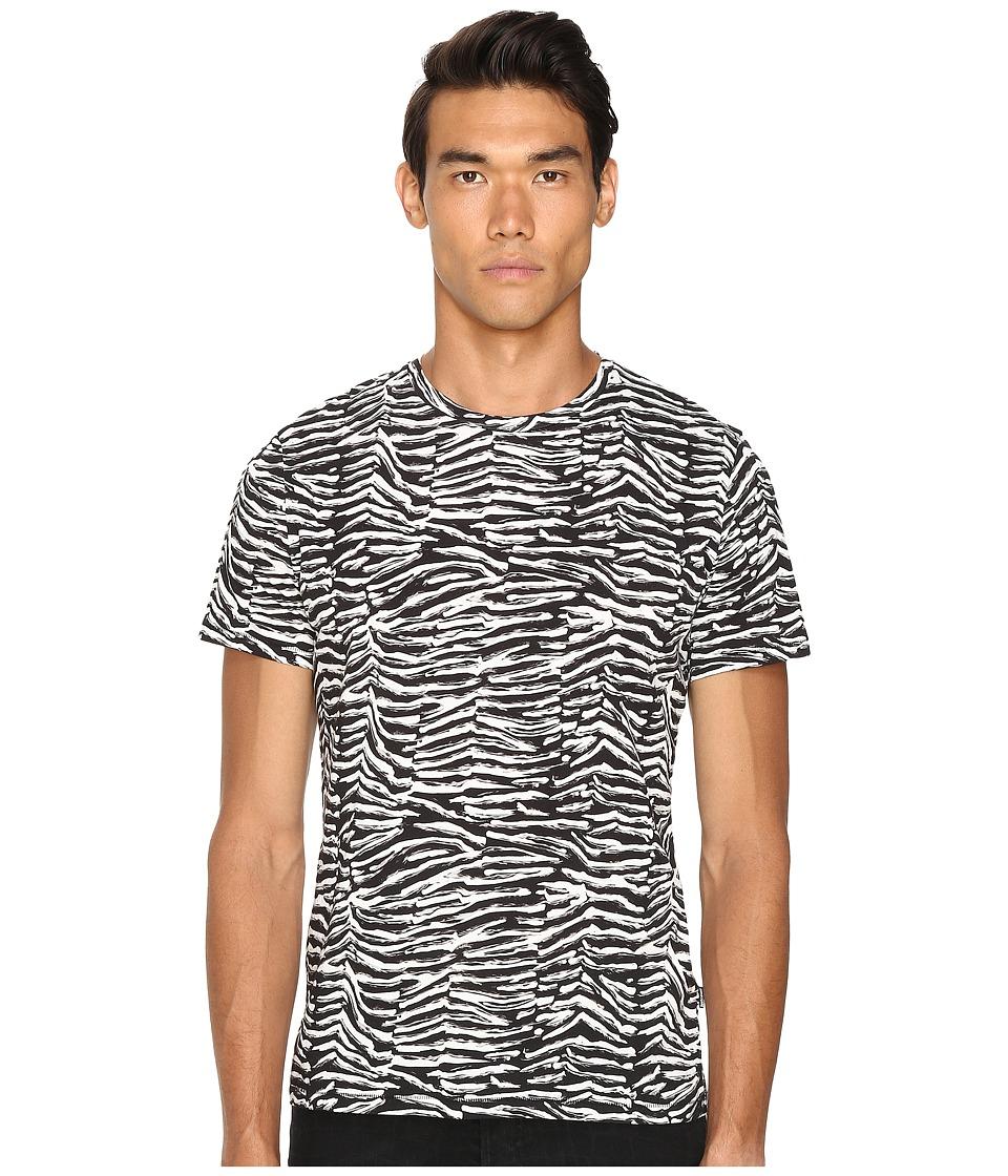 Home women slim fit women slim fit just cavalli slim fit - Just Cavalli Slim Fit Zebra Vibe Printed T Shirt Black Variant Men