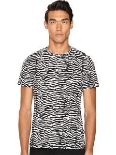 就是卡沃利 Just Cavalli Slim Fit Zebra Vibe Printed T-Shirt