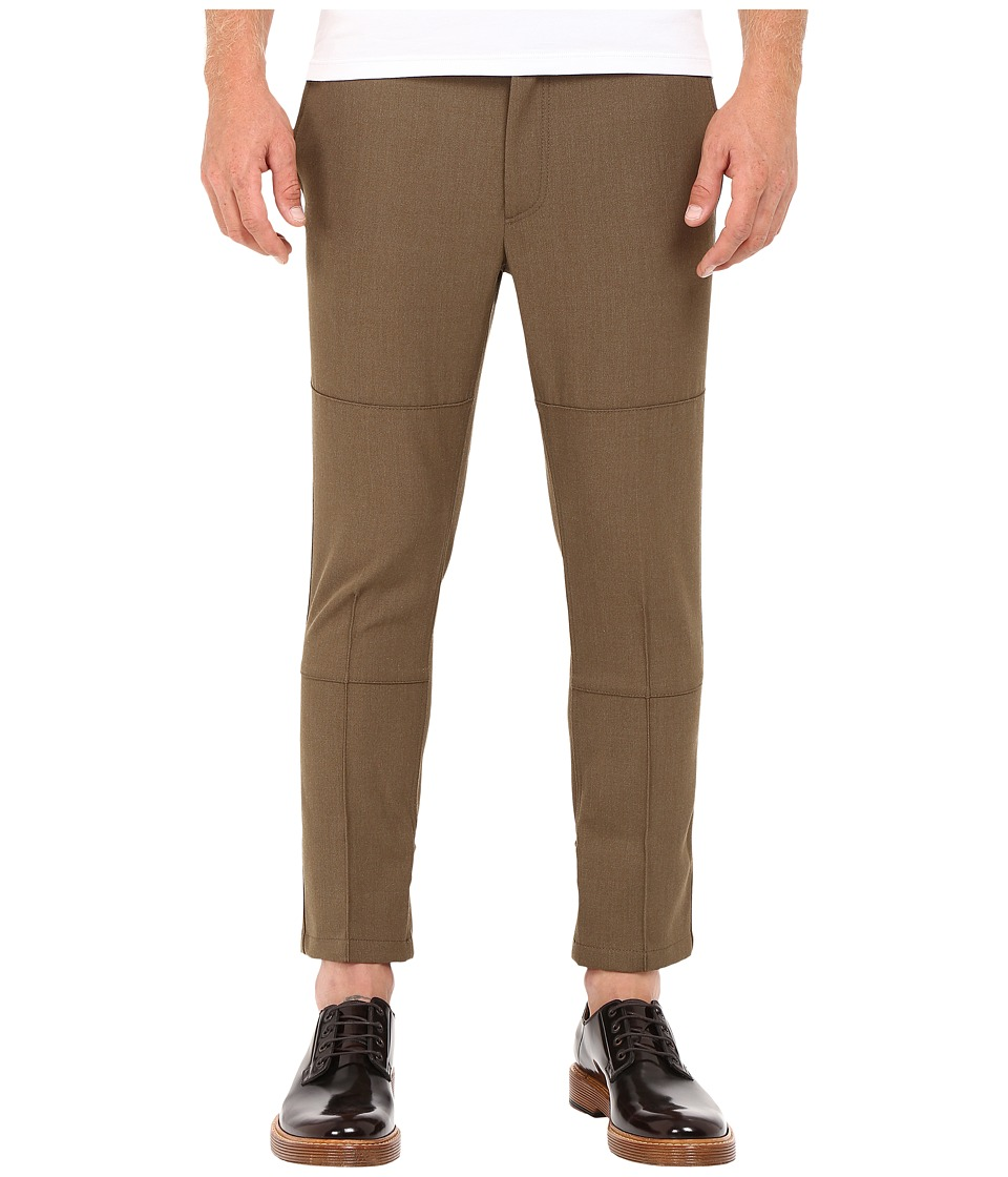 Marc Jacobs - Strictly Twill Trousers (Army Melange) Men's Casual Pants