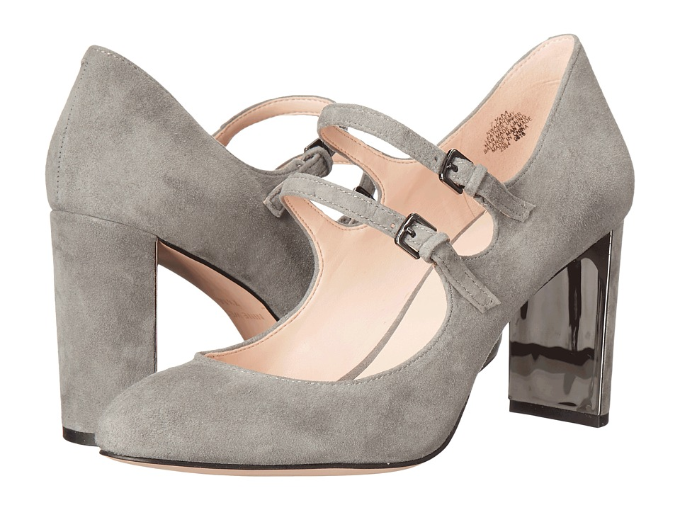 Nine West - Academy (Grey Suede) Women's Shoes