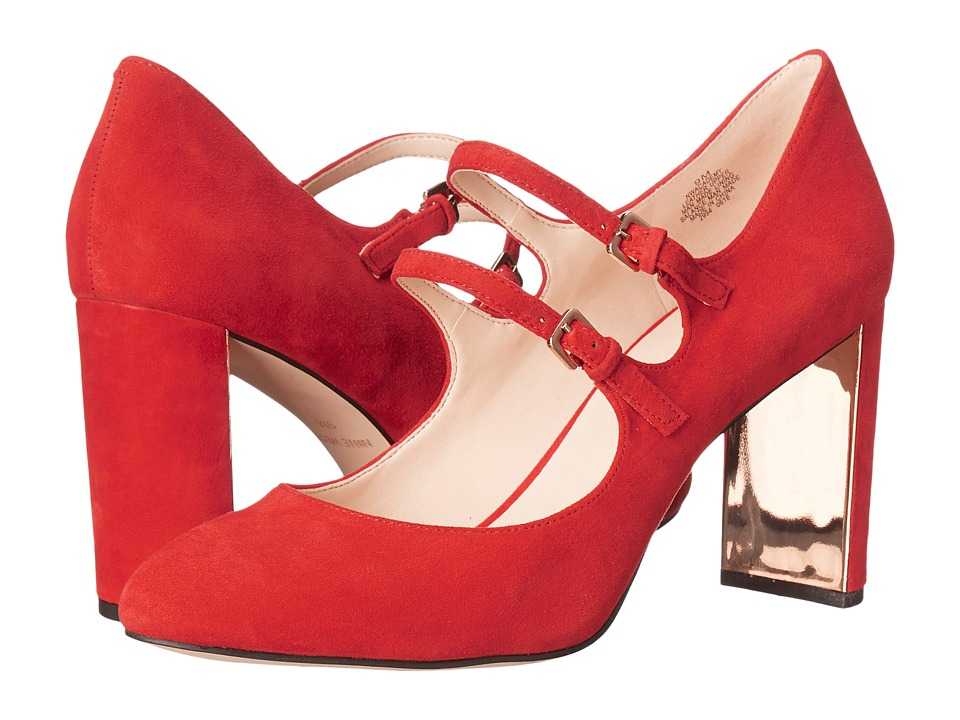 Nine West - Academy (Red Suede) Women's Shoes