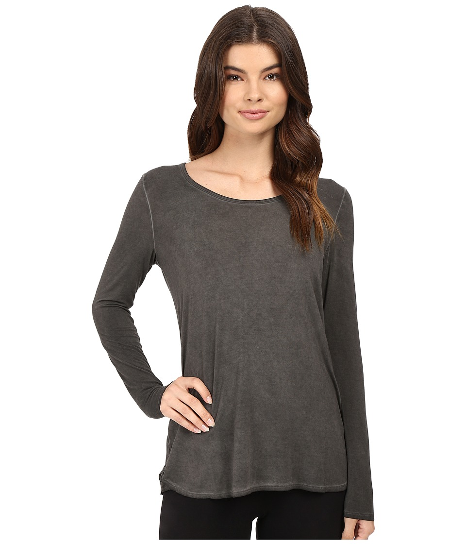 Lysse - Haiku Silk Tee (Gunmetal) Women's T Shirt