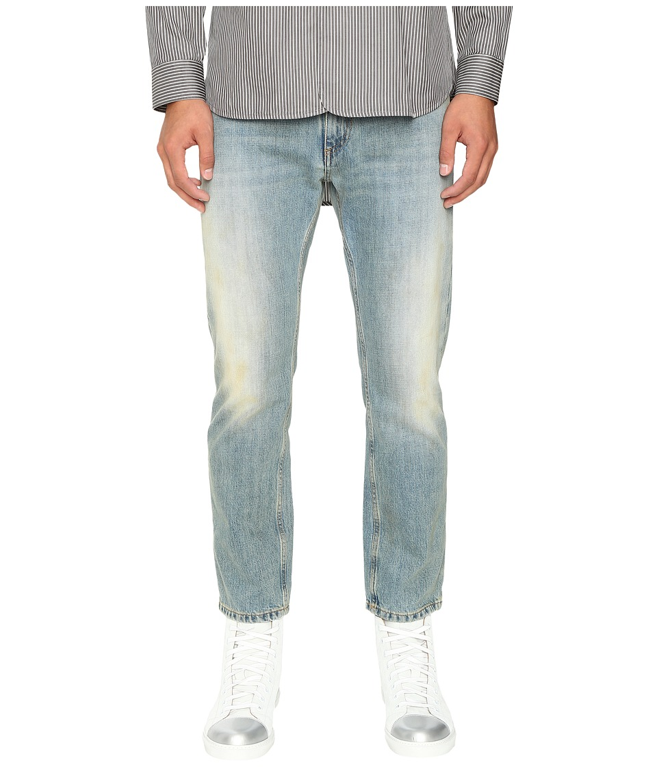 Marc Jacobs - Straight Leg Denim in Bleach Wash (Bleach Wash) Men's Jeans