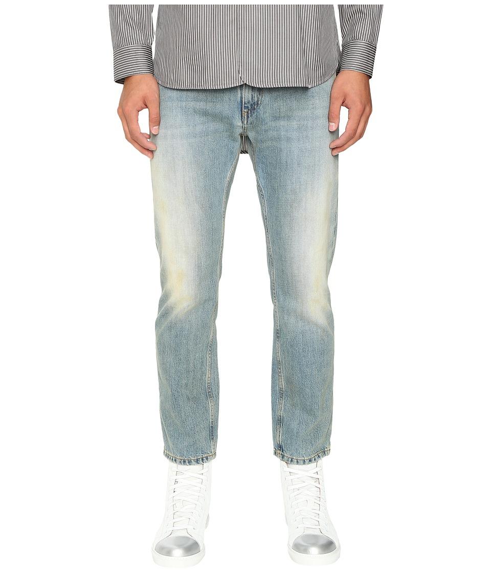 Marc Jacobs - Straight Leg Denim in Bleach Wash (Bleach Wash) Men's Jeans