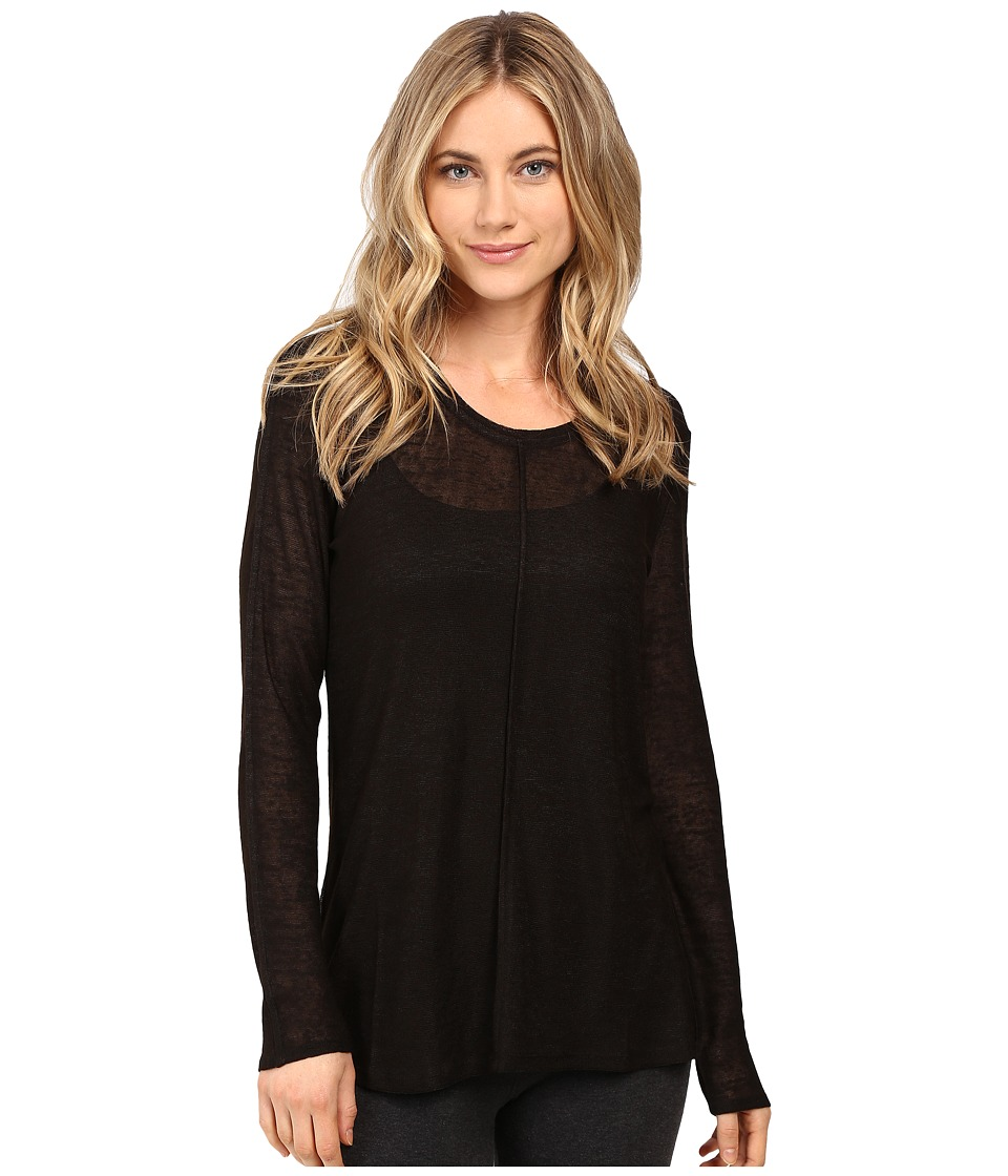 Lysse - Sonnet Long Sleeve (Black) Women's Clothing