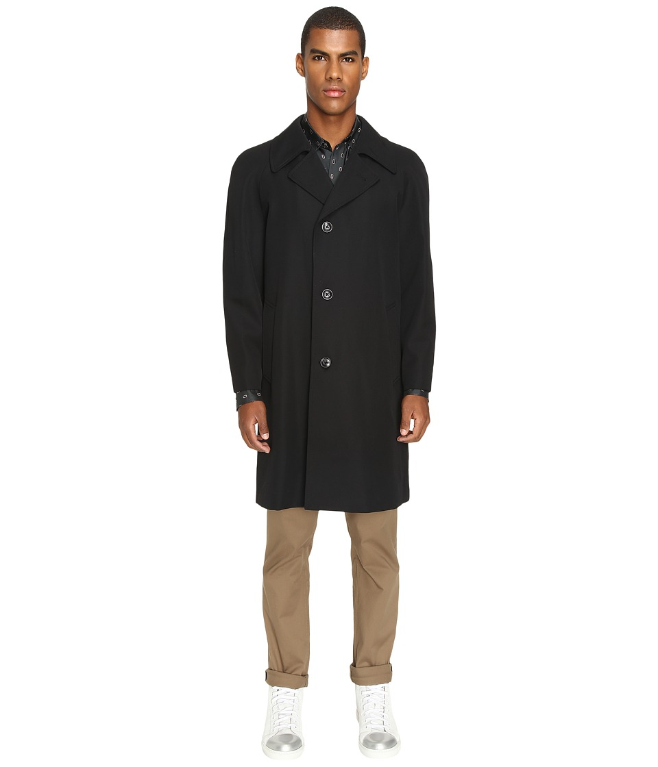 Marc Jacobs - Strictly Twill Trench Coat (Black) Men's Coat