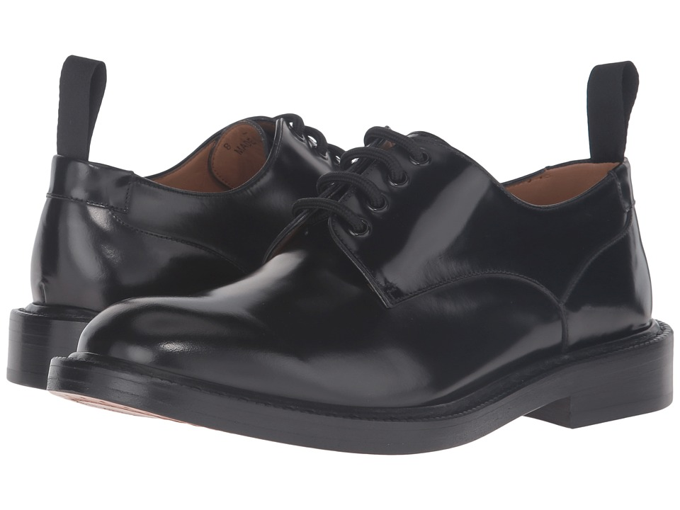 Marc Jacobs - Classic Cordovan Derby (Black) Men's Shoes