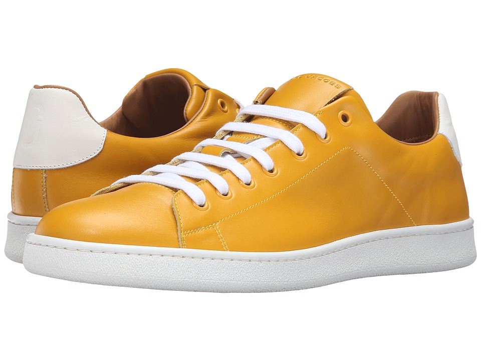 Marc Jacobs - Clean Nappa Low Top Sneaker (Yellow) Men's Shoes